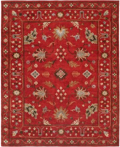 Sundance Collection no.325, Lively, exuberant rugs for the true individualist - Sundance is a delightful collection of area rugs in Arts & Crafts patterns and traditional motifs. Hand-knotted with 100% premium wool in a Tibetan weave. Artfully designed for today's eclectic interiors! Available in rectangular sizes between 2' x 3' and 12' x 15', and as runners and we can also do custom sizes so please call us for better service.