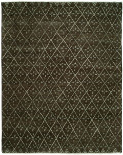 Barcelo 791. The Kalaty Rugs Barcelo collection is unique in that it includes a variety of classic designs and patterns ranging from Moroccan to Damask to Asian influences. The result of a new Turkish-style weave and 100% premium hand-spun wool, each of these elegant hand-knotted rugs is unusually soft and very fashion forward. Available in rectangular sizes between 2' x 3' and 12' x 15', and as runners and we can also do custom sizes so please call us for better service.