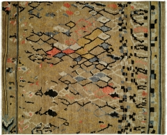 Barcelo 796. The Kalaty Rugs Barcelo collection is unique in that it includes a variety of classic designs and patterns ranging from Moroccan to Damask to Asian influences. The result of a new Turkish-style weave and 100% premium hand-spun wool, each of these elegant hand-knotted rugs is unusually soft and very fashion forward.