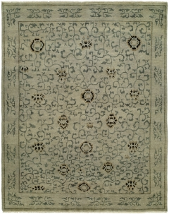 Barcelo 797. The Kalaty Rugs Barcelo collection is unique in that it includes a variety of classic designs and patterns ranging from Moroccan to Damask to Asian influences. The result of a new Turkish-style weave and 100% premium hand-spun wool, each of these elegant hand-knotted rugs is unusually soft and very fashion forward. Available in rectangular sizes between 2' x 3' and 12' x 15', and as runners and we can also do custom sizes so please call us for better service.