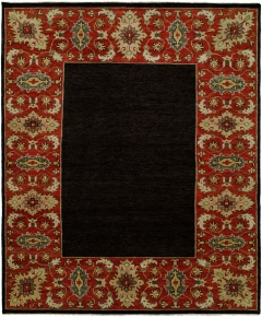 Barcelo 799. The Kalaty Rugs Barcelo collection is unique in that it includes a variety of classic designs and patterns ranging from Moroccan to Damask to Asian influences. The result of a new Turkish-style weave and 100% premium hand-spun wool, each of these elegant hand-knotted rugs is unusually soft and very fashion forward. Available in rectangular sizes between 2' x 3' and 12' x 15', and as runners and we can also do custom sizes so please call us for better service.