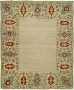 Barcelo 801. The Kalaty Rugs Barcelo collection is unique in that it includes a variety of classic designs and patterns ranging from Moroccan to Damask to Asian influences. The result of a new Turkish-style weave and 100% premium hand-spun wool, each of these elegant hand-knotted rugs is unusually soft and very fashion forward. Available in rectangular sizes between 2' x 3' and 12' x 15', and as runners and we can also do custom sizes so please call us for better service.