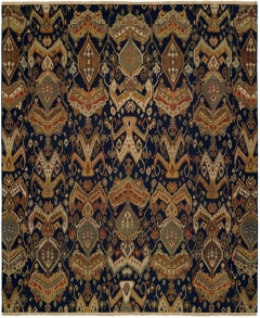 Caspian 824. The Caspian Collection; Multi-dimensional patterns with broad appeal are woven by hand from 100% premium wool and creatively designed in a flat Soumak-style weave. The attractive textural effect stems from a combination process of flat and herringbone weaves that imparts a three-dimensional look and feel to both sides of each rug. Available in rectangular sizes between 2' x 3' to 12' x 15', and as runners in various lengths as well as various round sizes. We can also do custom sizes so please call us for better service.