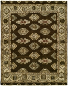 Heris 90. Classic 100% wool hand-knotted rug patterns inspired by the geometry found in traditional Heriz and Serapi rugs. Each of these rugs features a number of fashionable colors and eye-catching motifs. Decidedly traditional yet designed for today! Available in rectangular sizes between 2' x 3' and 12' x 15', and as runners and we can also do custom sizes so please call us for better service.