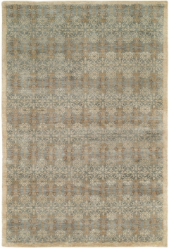 Mirabelle 492. Fresh and charming - Mirabelle is a fusion of traditional and transitional motifs with a fresh new look. Here is a collection of fine, low-pile hand-knotted designs in 100% premium hand-spun wool where each simple-yet-elegant pattern works in any setting. Available in rectangular sizes between 2' x 3' and 12' x 15', and as runners and we can also do custom sizes so please call us for better service.