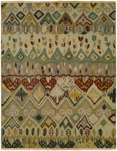 SU-480. Soumak Collection is hand woven 100% wool double sided flat-weave designs with a herringbone texture on both sides. Beautiful colors available in rectangular sizes between 2' x 3' to 12' x 18', and also as runners, rounds or squares. Please call us for better service.