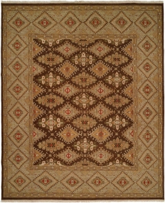 SU-223. Soumak Collection is hand woven 100% wool double sided flat-weave designs with a herringbone texture on both sides. Beautiful colors available in rectangular sizes between 2' x 3' to 12' x 18', and also as runners, rounds or squares. Please call us for better service.