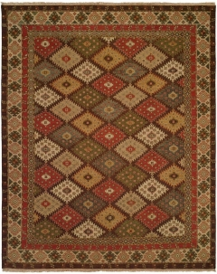 SU-231. Soumak Collection is hand woven 100% wool double sided flat-weave designs with a herringbone texture on both sides. Beautiful colors available in rectangular sizes between 2' x 3' to 12' x 18', and also as runners, rounds or squares. Please call us for better service.