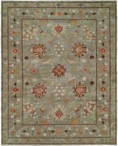 Sundance 327. Lively, exuberant rugs for the true individualist - Sundance is a delightful collection of area rugs in Arts & Crafts patterns and traditional motifs. Hand-knotted with 100% premium wool in a Tibetan weave. Artfully designed for today's eclectic interiors!