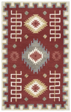 MH272. The Mohawk Collection is hand tufted with partly loop hooked pile in 100% wool and available in sizes 5' x 8' to 10' 13.