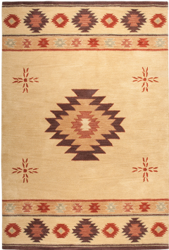 NM3118. The New Mexico Collection is hand tufted with 100% Wool pile. Inspired be the distinctive styling of Native American art and textiles. 13 standard sizes ranging from 2' x 3' – 10' x 13', round – runners and also custom sizes are available. Please call us for better service.