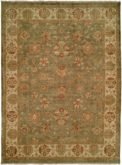 OU-405 - This Oushak Collection is in a special class of their own - richly colored - 100 wool pile hand knotted in a Turkish style that emulates many of the authentic antique designs and characteristics. Available in many sizes between 2' x 3' to 12' x 18', and as runners, rounds and squares + custom sizes. Please call us for better service.