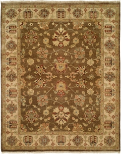 OU-408 - This Oushak Collection is in a special class of their own - richly colored - 100 wool pile hand knotted in a Turkish style that emulates many of the authentic antique designs and characteristics. Available in many sizes between 2' x 3' to 12' x 18', and as runners, rounds and squares + custom sizes. Please call us for better service.