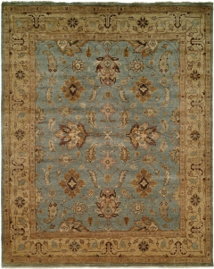 OU-416 - This Oushak Collection is in a special class of their own - richly colored - 100 wool pile hand knotted in a Turkish style that emulates many of the authentic antique designs and characteristics. Available in many sizes between 2' x 3' to 12' x 18', and as runners, rounds and squares + custom sizes. Please call us for better service.