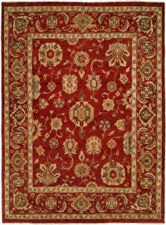 OU-453. This Oushak Collection is in a special class of their own - richly colored - 100% wool pile hand knotted in a Turkish style that emulates many of the authentic antique designs and characteristics. Available in many sizes between 2' x 3' to 12' x 18', and as runners, rounds and squares + custom sizes. Please call us for better service.