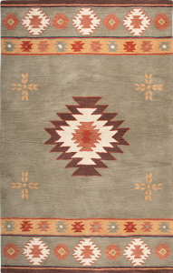 NM3119. The New Mecico Collection is hand tufted with 100% Wool pile. Inspired be the distinctive styling of Native American art and textiles. 13 standard sizes ranging from 2' x 3' – 10' x 13', round – runners and also custom sizes are available. Please call us for better service.